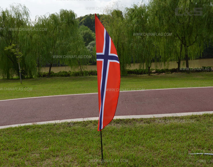 Custom Norway Feather Flag