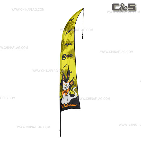 Celebrations Wind Feather Kit Flag
