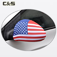 USA Flag Car side mirror cover