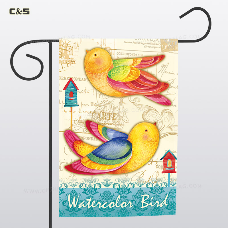 Birds Outdoor Flag